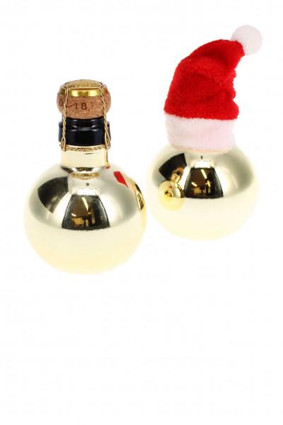 Kleinste Sektflasche - GOLD Sektbombe