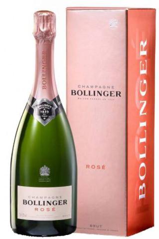 Bollinger ROSÉ Brut im Geschenkkarton 0,375