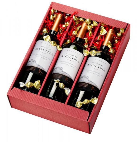 Weinpräsent Molina Cabernet Sauvignon Reserva