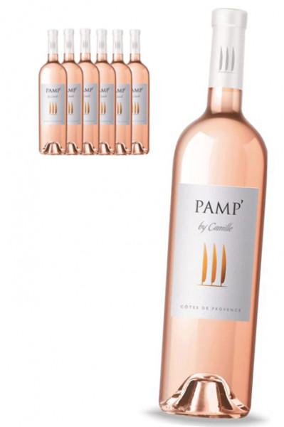 6 x Rosé Le Pamp' By Camille - Côtes de Provence