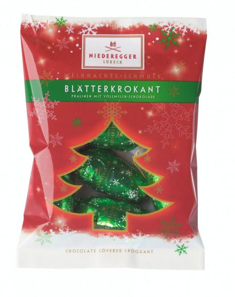Niederegger WEIHNACHTS-SCHMUCK BLÄTTERKROKANT