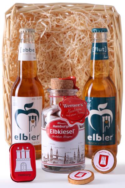 Elbler Hamburg Präsentkörbchen