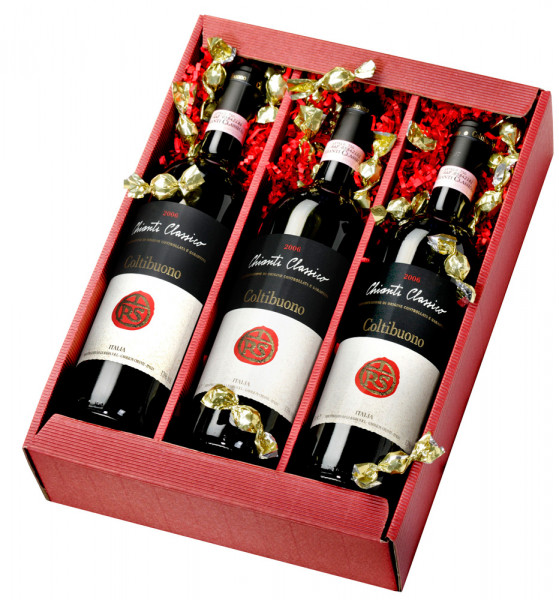 Weinpräsent Chianti aus der Toskana