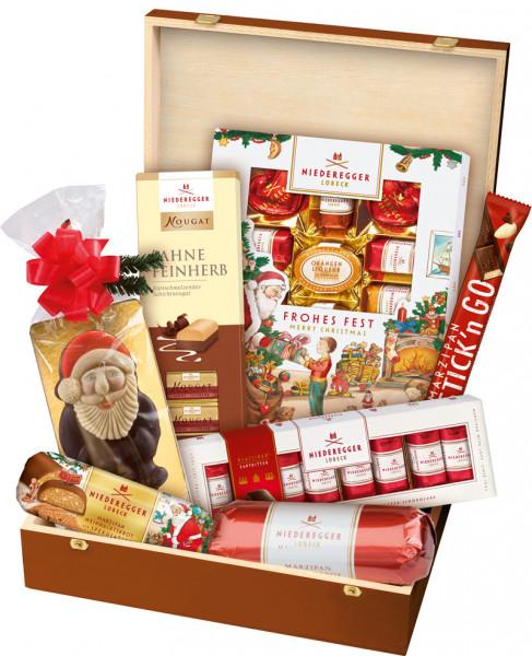Niederegger Festkiste Süße Kiste 850g