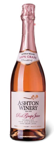 Ashton Kelder Red Grape Juice Sparkling Alkoholfrei