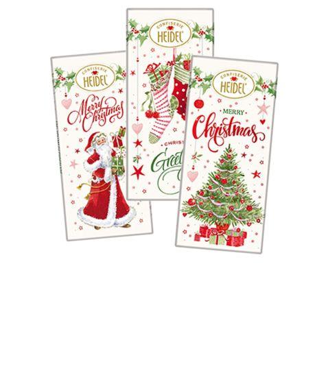Merry Christmas Schokoladentäfelchen