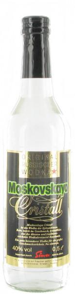 Moskovskaya Cristall Wodka 0,5L