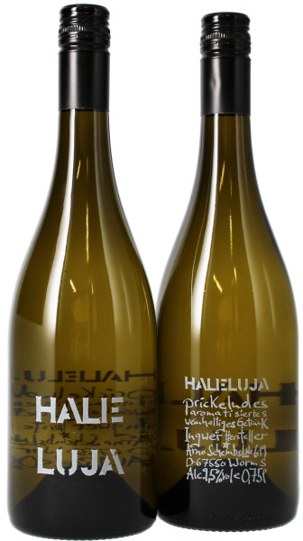 Haleluja Halleluja - Spritziger Riesling mit Ingwersaft