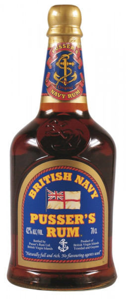 Pussers Rum British Navy