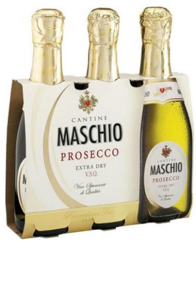 Prosecco Maschio DOC Frizzante Piccolo 3 x 0,2 L