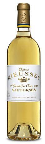 Château Rieussec 2016 - BLANC Sauternes 1er Grand Cru Classé