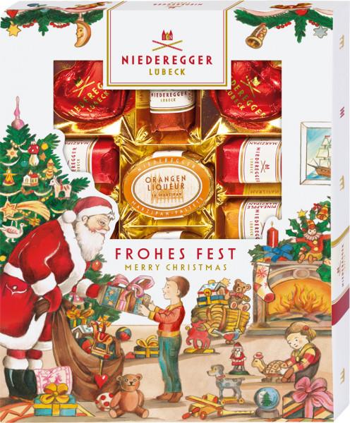 Niederegger Marzipanerie 182g im Weihnachtsschuber