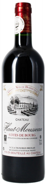 Chateau Haut Mousseau 2018 - Côtes de Bourg Bordeaux