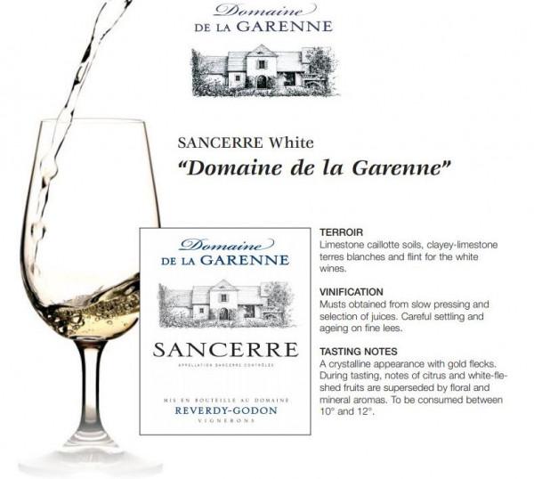 Sancerre Domaine de La Garenne