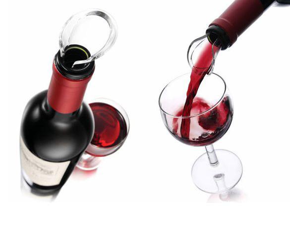 Wine Server Crystal Ausgießer tropfenfrei