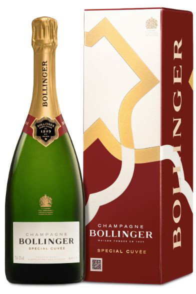 Bollinger Special Cuvée Brut im Geschenkkarton