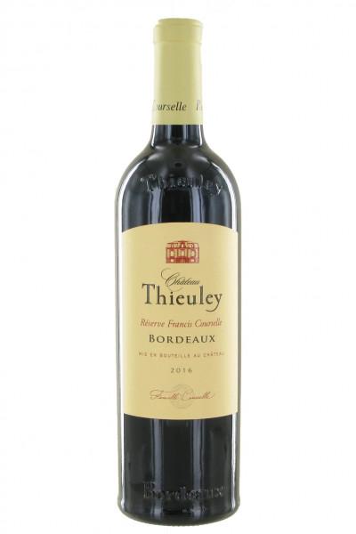 Château Thieuley - Réserve Francis Courselle 2016 - Bordeaux Supérieur