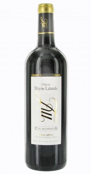 Château Mayne Lalande 2016 - Listrac-Médoc Cru Bourgeois