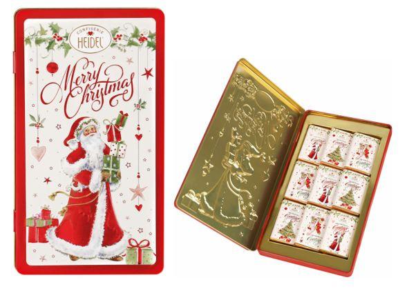 Merry Christmas Schokoladen Schmuckdose