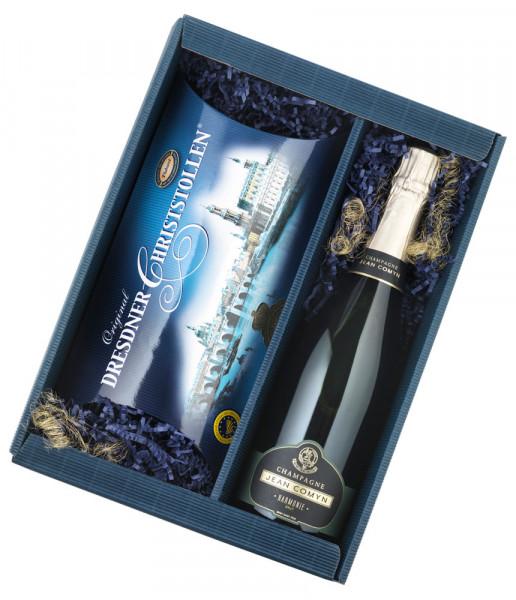 Champagner und Stollen