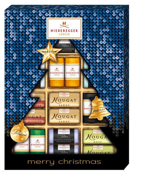 Niederegger Merry Christmas Meisterselektion 300g