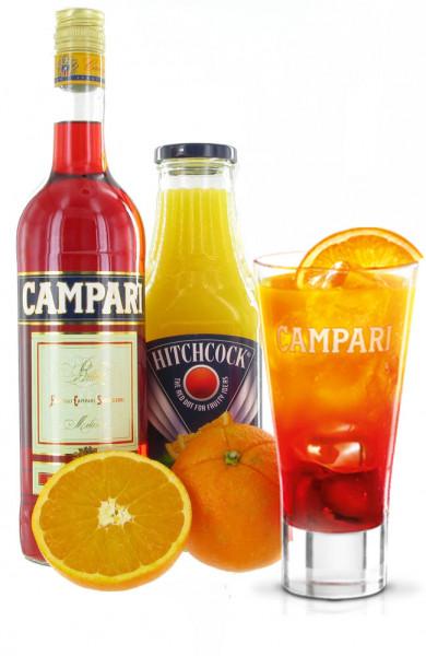 Campari O - Sommerdrink Präsent
