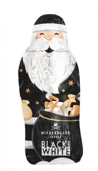 Niederegger Black & White Weihnachtsmann 100g