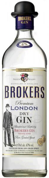 Brokers London Dry Gin 47%