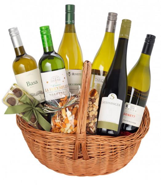Genießerkorb Weißweinreise durch Europa