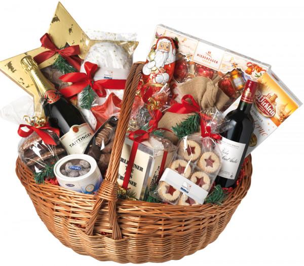 Weihnachten Präsentkorb Premium XXL