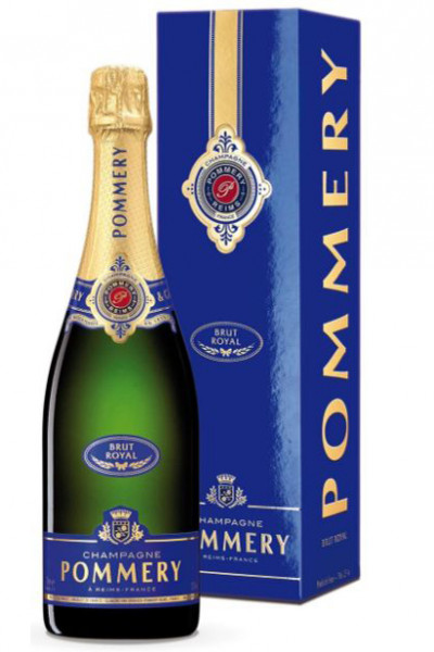 Champagne Pommery Brut Royal in Geschenkverpackung