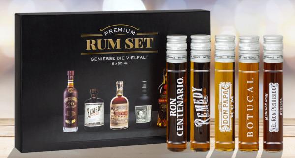 Rum Tasting Set Premium