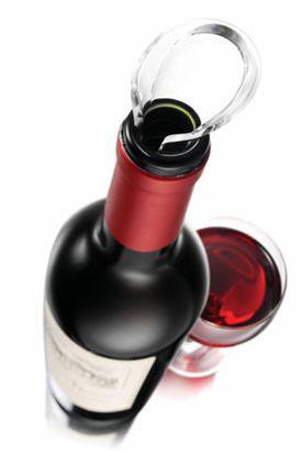 Weinausgießer - vacu vin Wine Server Crystal