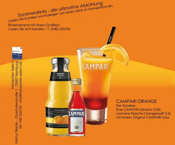 CAMPARI ORANGE Longdrink Präsent