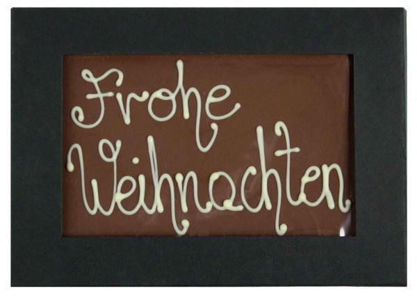 Meisterchocolade Frohe Weihnachten
