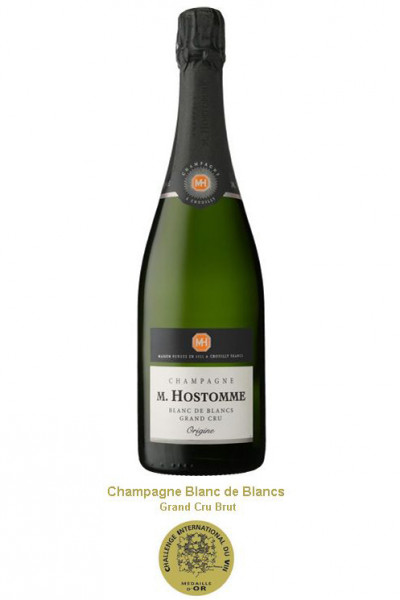 Champagne M. Hostomme GRAND CRU Blanc de Blancs