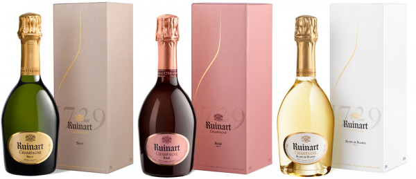 Kleine Promenade de Champagne RUINART 3x0,375l.