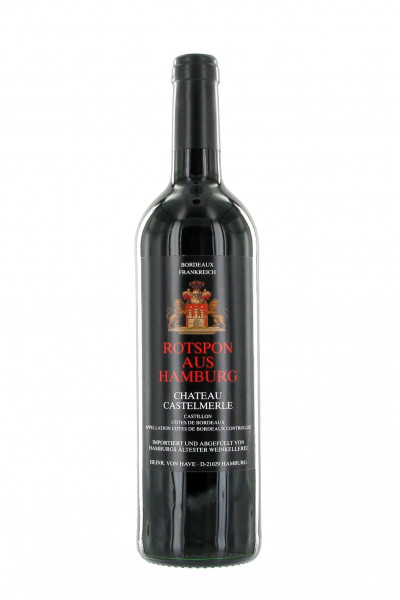 Rotspon aus Hamburg Bordeaux