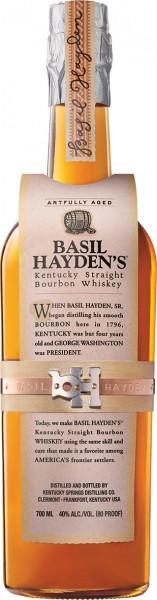 Basil Haydens Kentucky Straight Bourbon