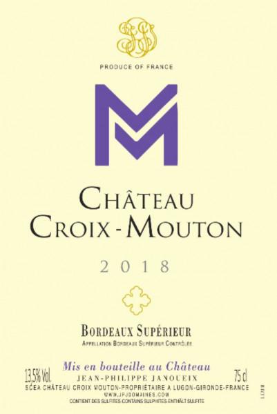 Chateau Croix Mouton Bordeaux Supérieur