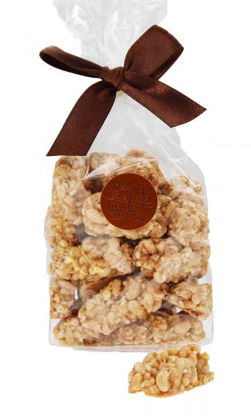 Knusper-Erdnuss Crisps mit Meersalz