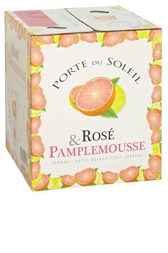 Rosé & Pampelmousse - Cube Wines Porte du Soleil