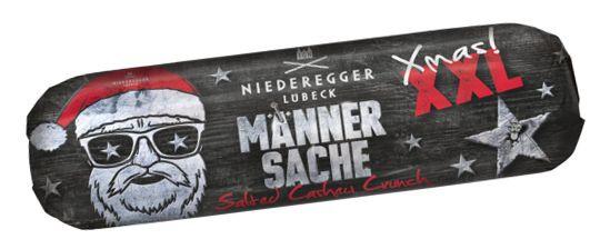 Niederegger Männersache XMAS Salted Cashew Crunch Marzipanbrot 200g