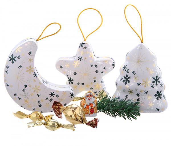 White Christmas Weihnachtsdosen