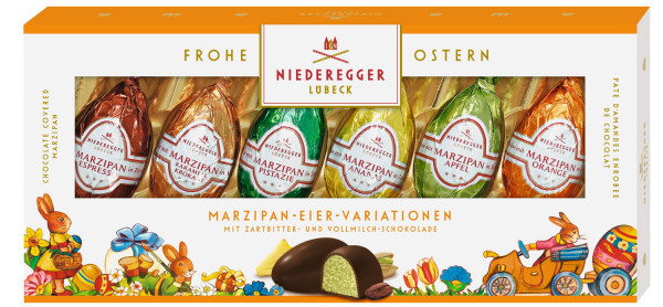 Niederegger Marzipan Eier Variationen 100g