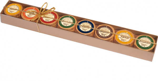 Goldstange Schokoladen-Golddublonen
