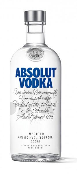 Absolut Vodka 0,5L