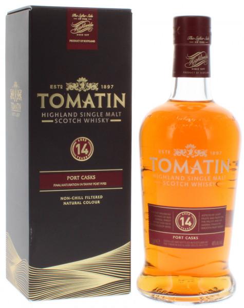 Tomatin 14 Jahre Port Casks