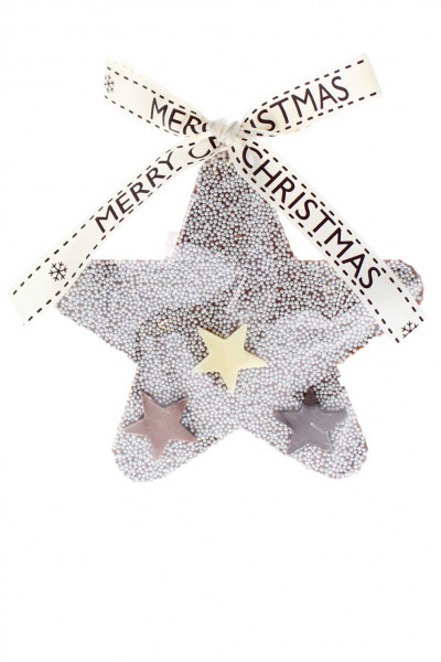 Schoko-Stern Merry Christmas