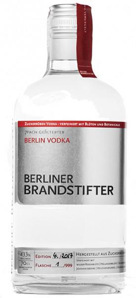Berliner Brandstifter Berlin Vodka